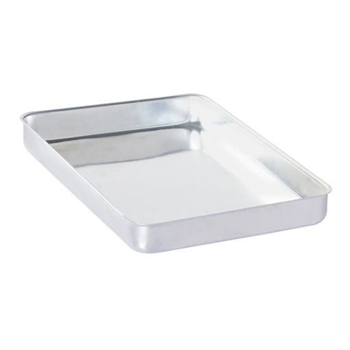 Picture of Almetal Baklava Tray, Aluminum, Cornered, Bold, 25x35x3.5 cm