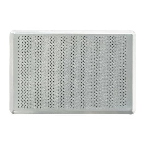 Picture of Almetal Screen Pan, Perforated, 45 Degree Edge, Aluminum, 1.5 mm, 32.5x53x1 cm