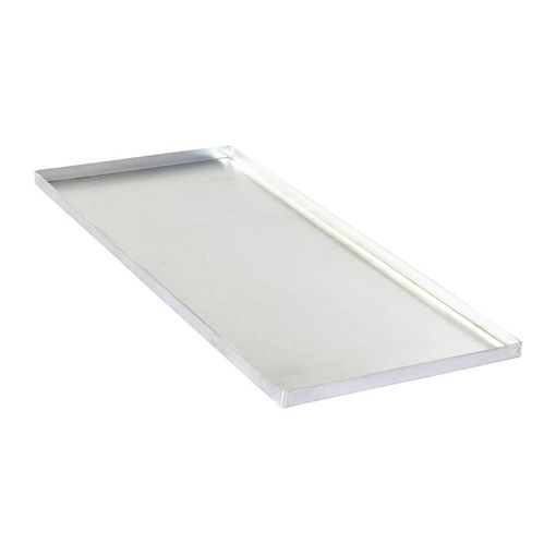 Picture of Almetal Welded Corner Tray, Aluminum, 2 mm, 34x84x5 cm