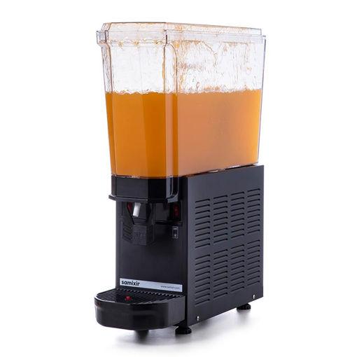 Picture of Samixir Classic Mono Cold Juice Dispenser, 20 L, Fountain, Black
