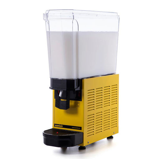 Picture of Samixir Classic Mono Cold Juice Dispenser, 20 L, Stirred, Yellow