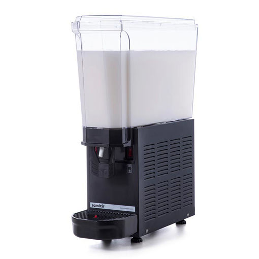 Picture of Samixir Classic Mono Cold Juice Dispenser, 20 L, Stirring Paddle, Black