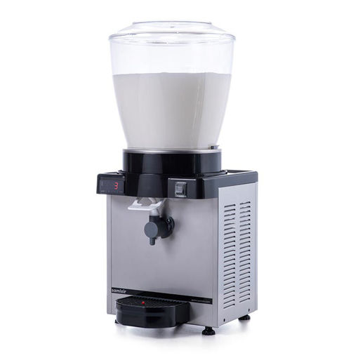 Picture of Samixir KAM22 Foamy Ayran Dispenser, 22 L, Digital, Panoramic, Inox