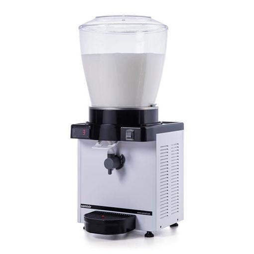 Picture of Samixir KAM22 Foamy Ayran Dispenser, 22 L, Digital, Panoramic, White