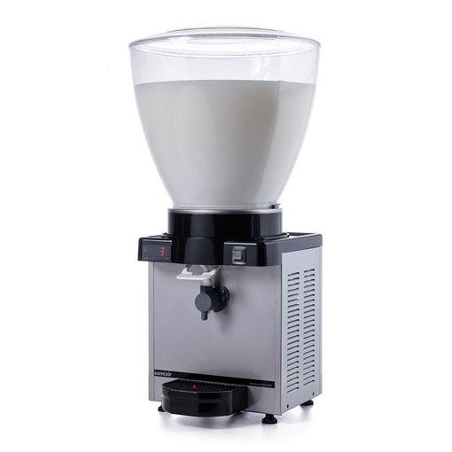 Picture of Samixir KAM40 Foamy Ayran Dispenser, 40 L, Digital, Panoramic, Inox