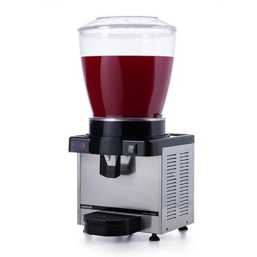 Picture of Samixir M22 Cold Drink Dispenser, 22 L, Digital, Panoramic, Inox