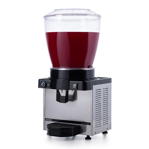 Picture of Samixir M22 Cold Juice Dispenser, 22 L, Analog, Panoramic, Inox