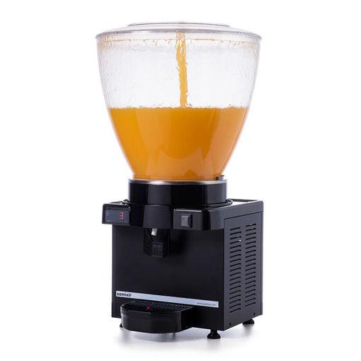 Picture of Samixir S40 Cold Drink Dispenser, 40 L, Digital, Panoramic, Black
