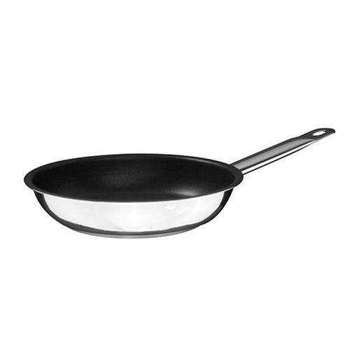 Ozti Frying Pan, Non Stick, Stainless Steel, 400x60 mm