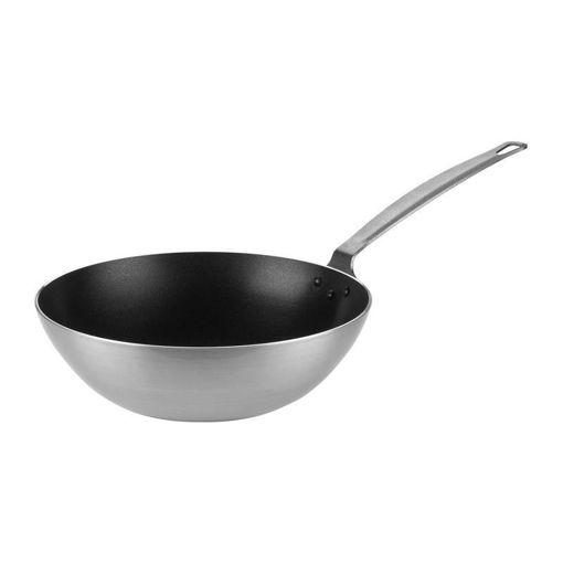 Ozti Elegance Wok Pan, Non-Stick, Aluminum, 280 mm