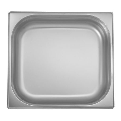 Ozti Gastronorm Pan, Stainless Steel, GN 2/3, 40 mm