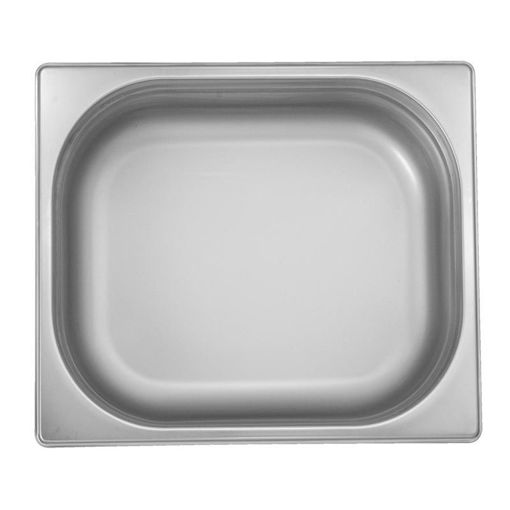 Ozti Gastronorm Pan, Stainless Steel, GN 1/2, 20 mm