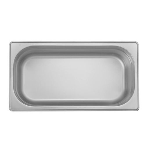 Ozti Gastronorm Pan, Stainless Steel, GN 1/3, 20 mm