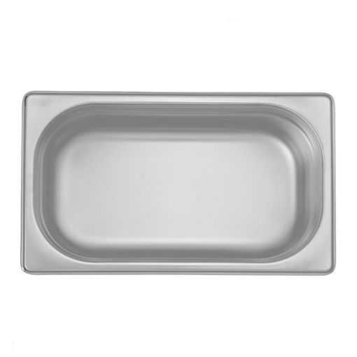 Ozti Gastronorm Pan, Stainless Steel, GN 1/4, 100 mm