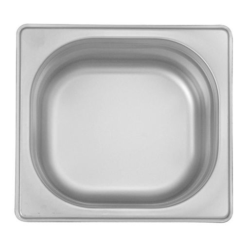 Ozti Gastronorm Pan, Stainless Steel, GN 1/6, 65 mm