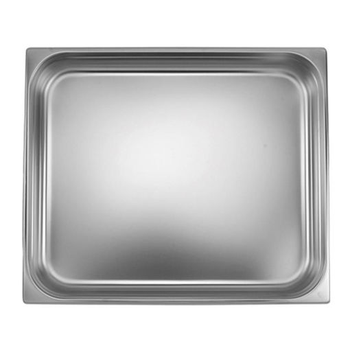 Ozti Gastronorm Pan, Stainless Steel, GN 2/1, 100 mm