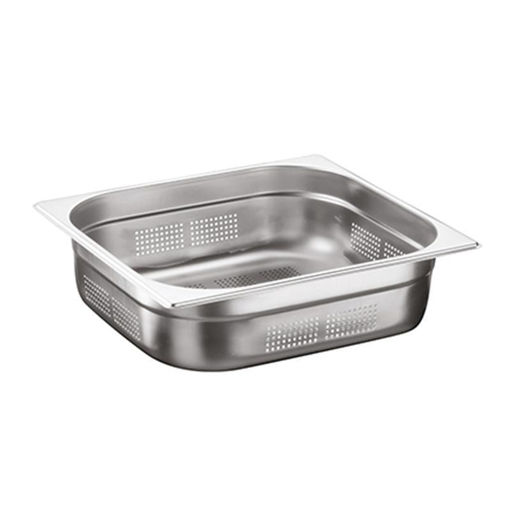 Ozti Gastronorm Pan, Perforated, Stainless Steel, GN 2/3, 150 mm