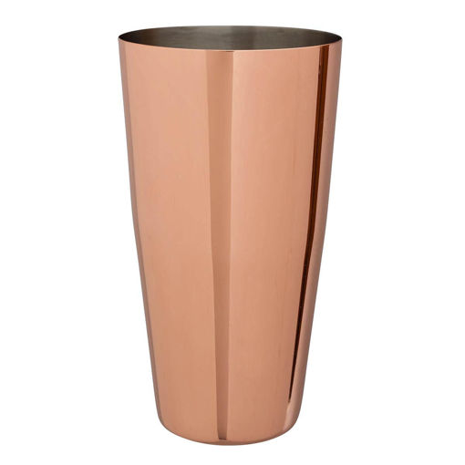 Picture of Beaumont Mezclar Boston Can, Polished Copper Plated, 28 oz