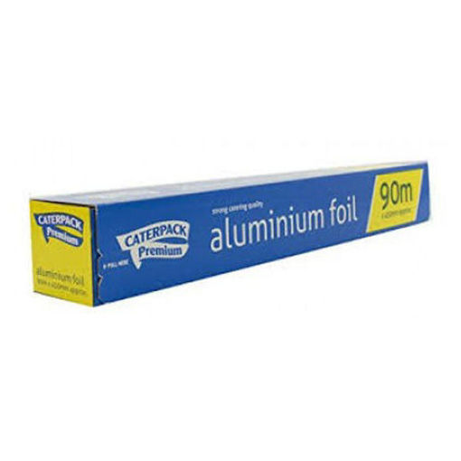 Caterpack Aluminium Foil, 450x90 mm, In Dispenser Box