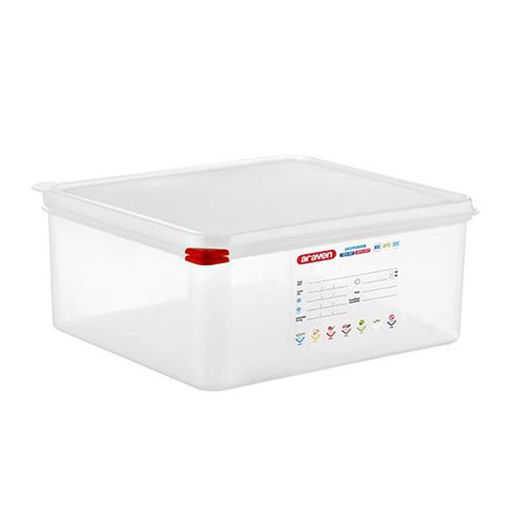 Araven Food Container, 13.5 L, Airtight, Gastronorm 2/3