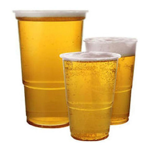 Robinson Young Pint Glass Tumblers Clear Plastic