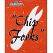 Robinson Young Wooden Chip Forks, Box Of 1000