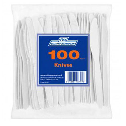 Robinson Plastic Knife, Pack Of 100
