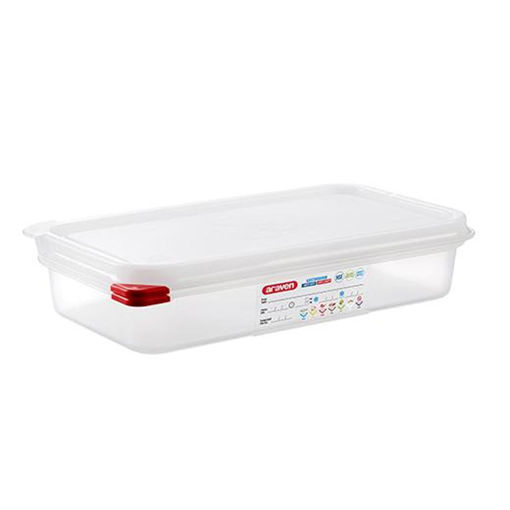 Araven Food Container, 2.5 L, Airtight, Gastronorm 1/3