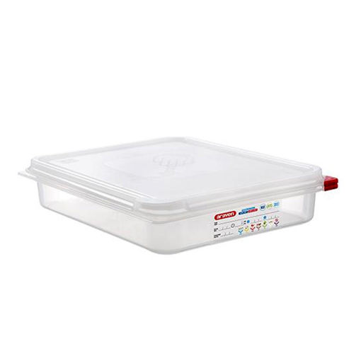 Araven Food Container, 3.8 L, Airtight, Gastronorm 1/2
