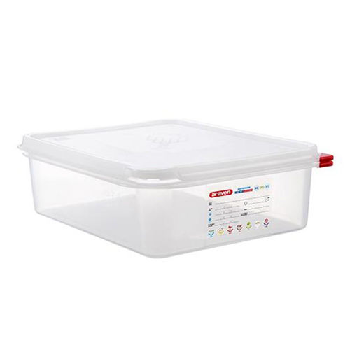 Araven Food Container, 6.5 L, Airtight, Gastronorm 1/2