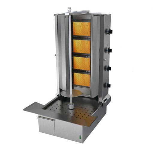 Picture of Atalay Doner Kebab Grill, 4 Burner, LPG