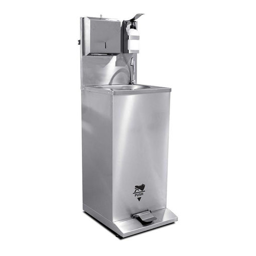 Picture of Mobile Hand Wash Sink - Foot Operated